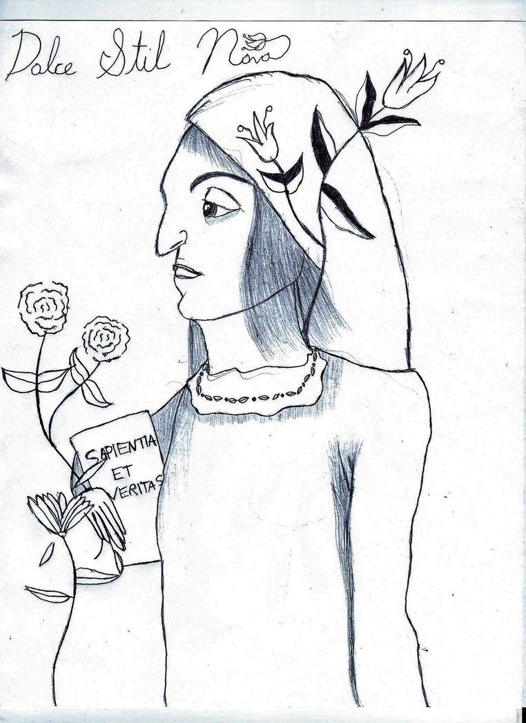 762x1048 Dolce Stil Novo (Lady Philosophy) By Sanatanasociety