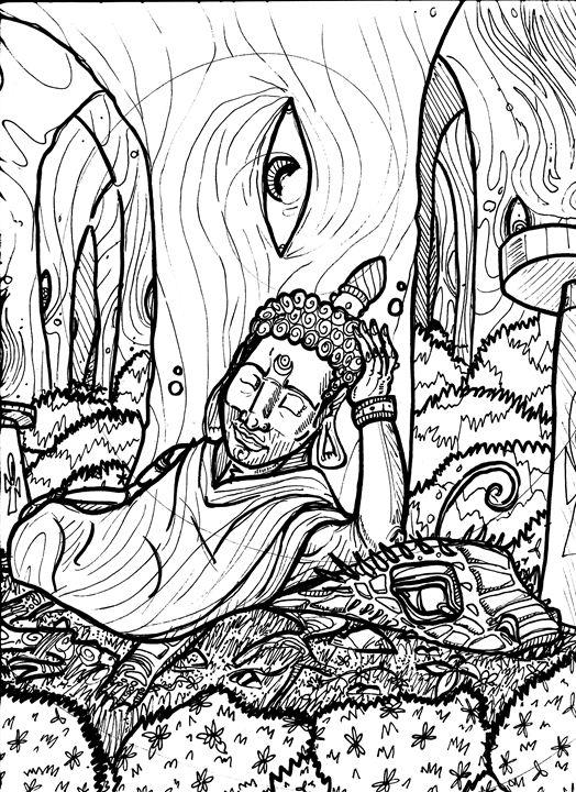 524x720 Buddha's Peace