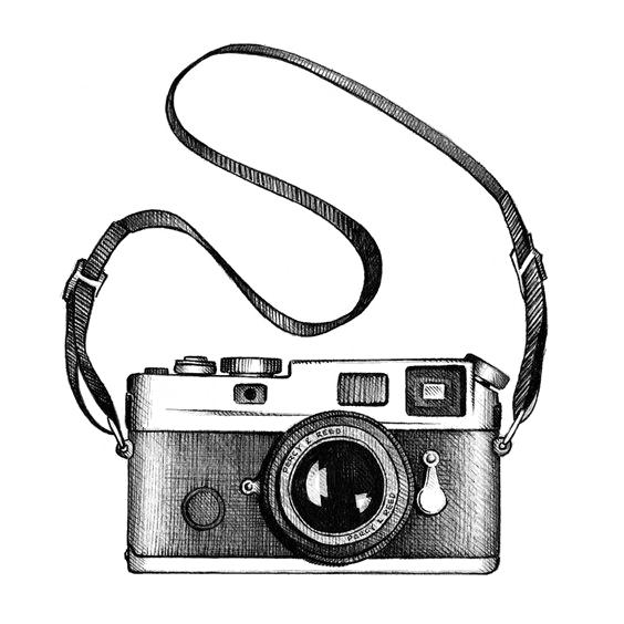564x564 Drawing Camera Photography Clip Art