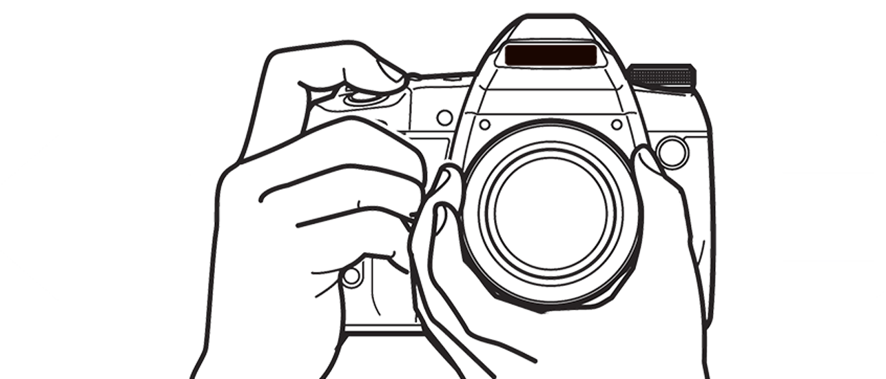 1286x550 Collection Of Photographer With Camera Drawing Png High