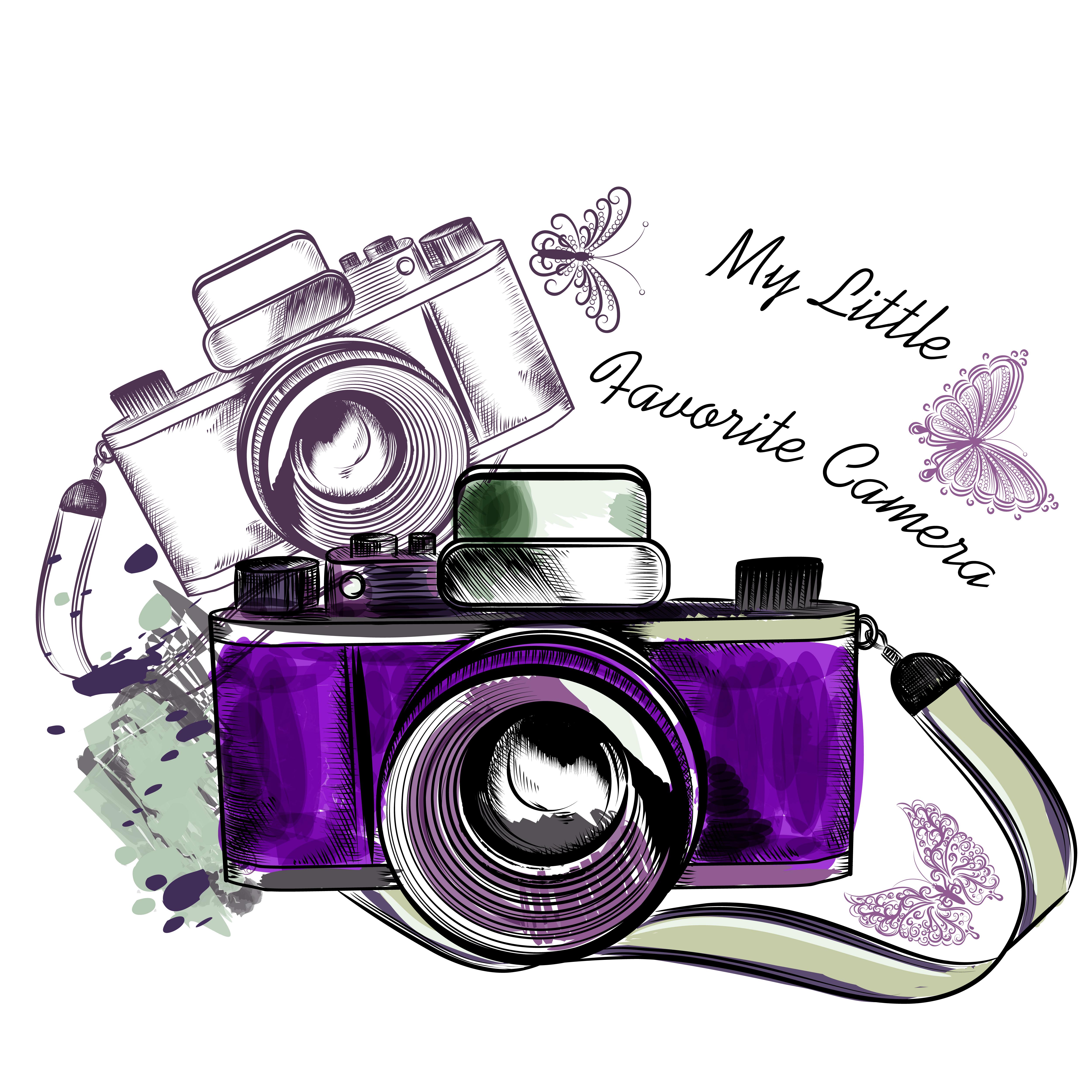 5000x5000 Camera Photography Clip Art