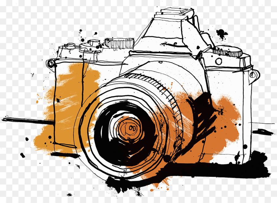 900x660 Single Lens Reflex Camera Drawing Photography Illustration