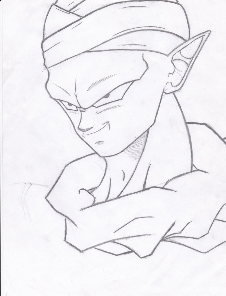 782x1021 Another Piccolo Sketch By Malikarcanum