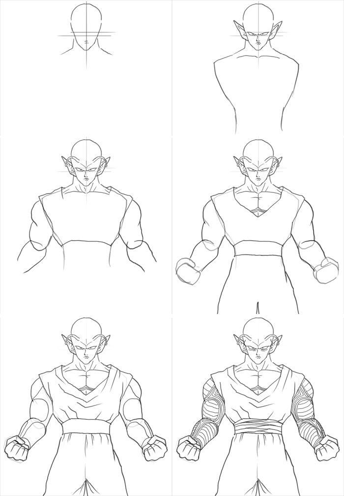 700x1008 How To Draw Piccolo Art Ideas Piccolo, Dragon Ball