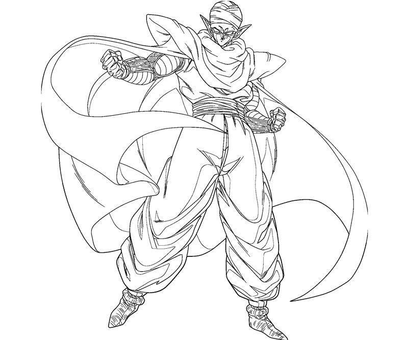 800x667 Piccolo Drawing Piccolo 2 Coloring Page, Dragon Ball Z Piccolo