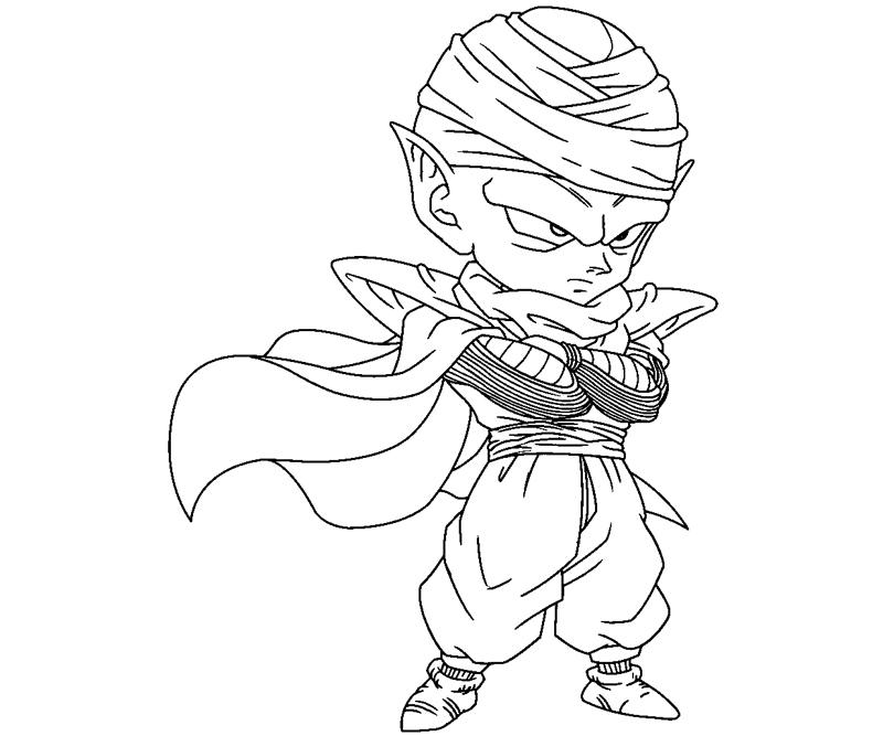 800x667 Piccolo Coloring Pages Piccolo 8 Coloring Crafty Teenager Download