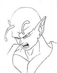 200x255 How To Draw Piccolo (From Dragon Ball Z) Manga University Campus