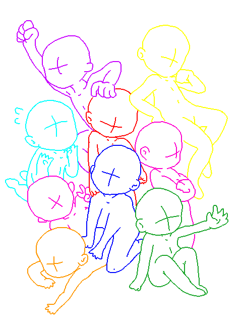 480x640 Gb Pile Of Chibis By Sunnybearbases On Drawing