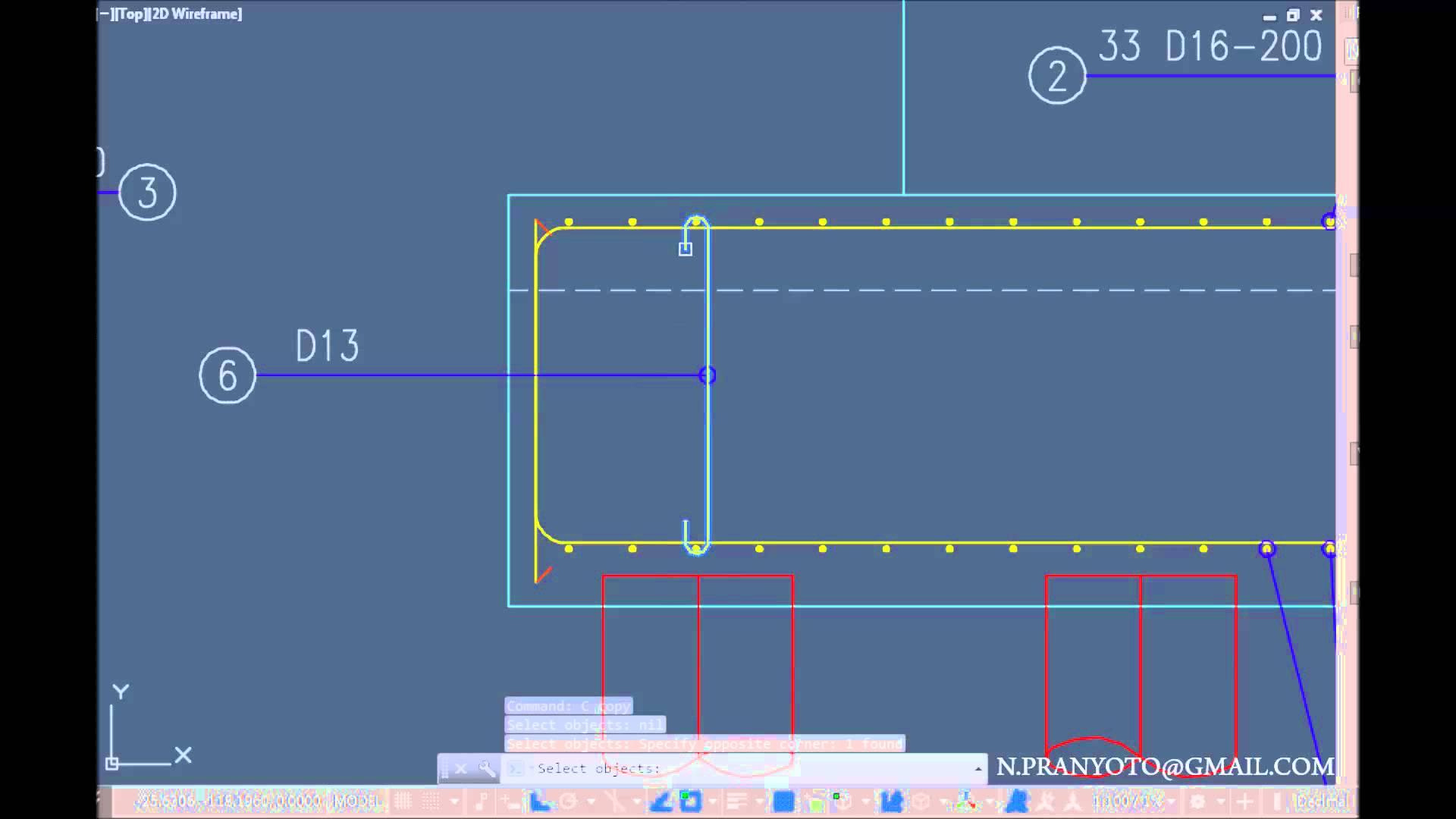 1920x1080 Autocad Structural Detailing Pile Cap Reinforcement