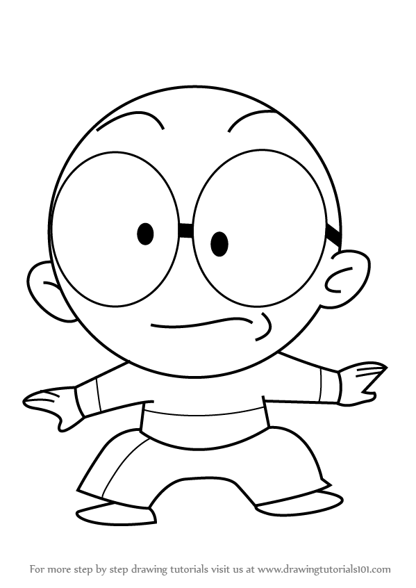 599x846 Learn How To Draw Ping Pong From Xiaolin Chronicles (Xiaolin