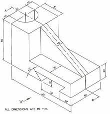 221x228 19 Best Isometric And Oblique Engineering Drawing Images