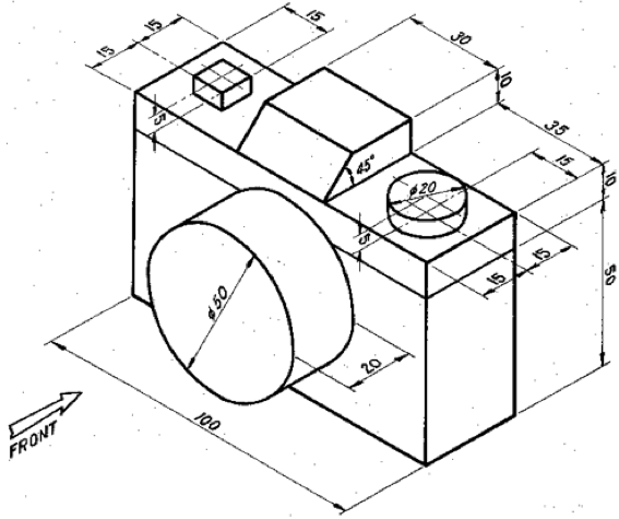 567x475 Collection Of Isometric Drawing Exercises High Quality, Free