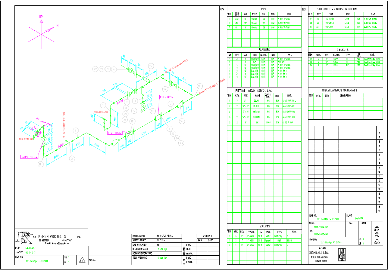 1288x901 Fancy Isometric Piping Template Photo