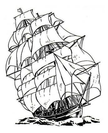 346x425 Image Result For Pirate Ship Drawing Easy Diy