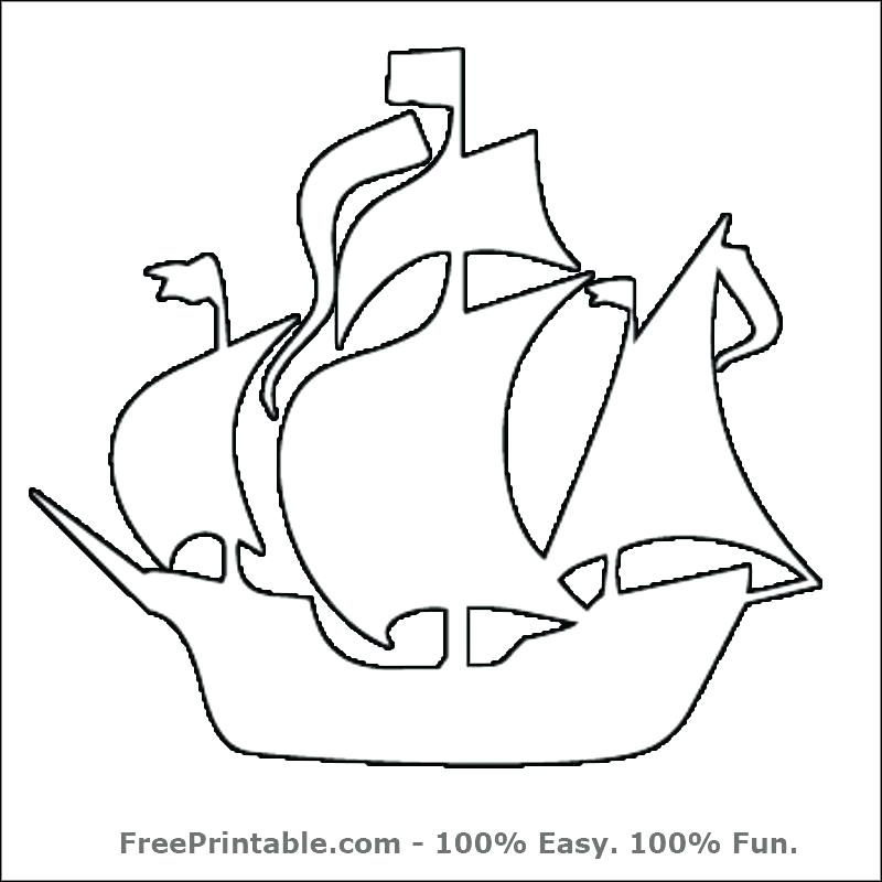 800x800 Pirate Ship Sails Printable Kids Coloring Customize Your Free