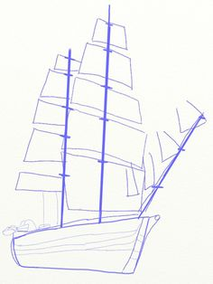 236x314 How To Draw A Pirate Ship 8 Steps (With Pictures)