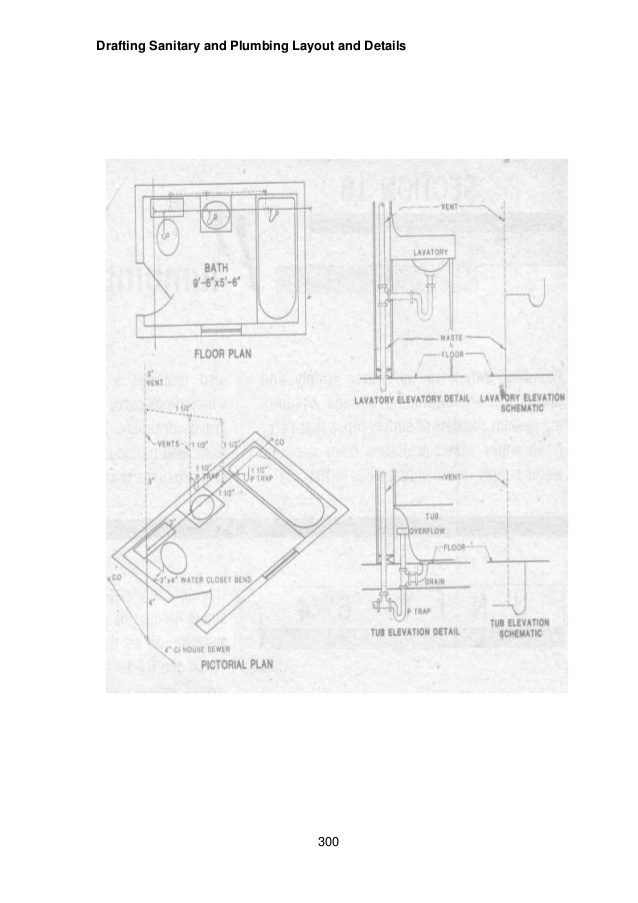 638x903 Module 6 Module 4 Draft Sanitary And Plumbing Layout And Details
