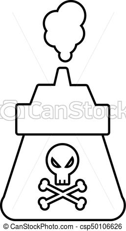 257x470 Poison Icon, Outline Line Style. Poison Icon. Outline Vector
