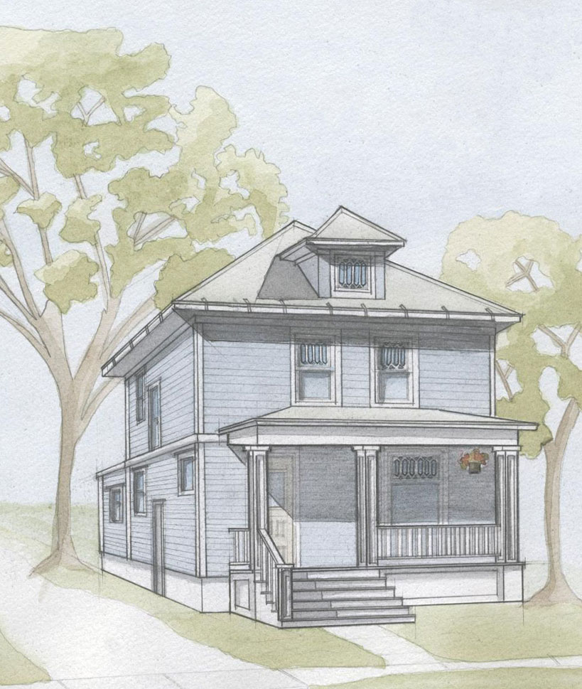 819x969 Eyesore Of The Week, Drawings Of Houses With Porch