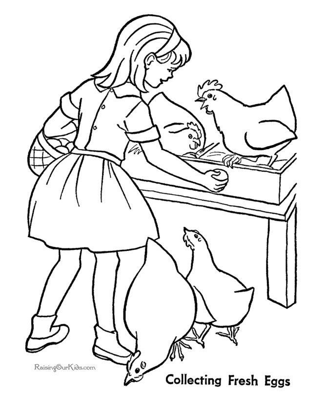 670x820 Drawn Chicken Female