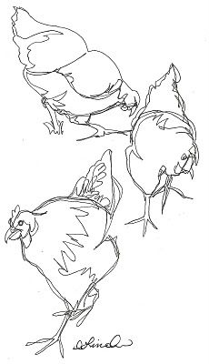 230x400 Cute Chooks Embroidery Embroidery, Sketches And Hens