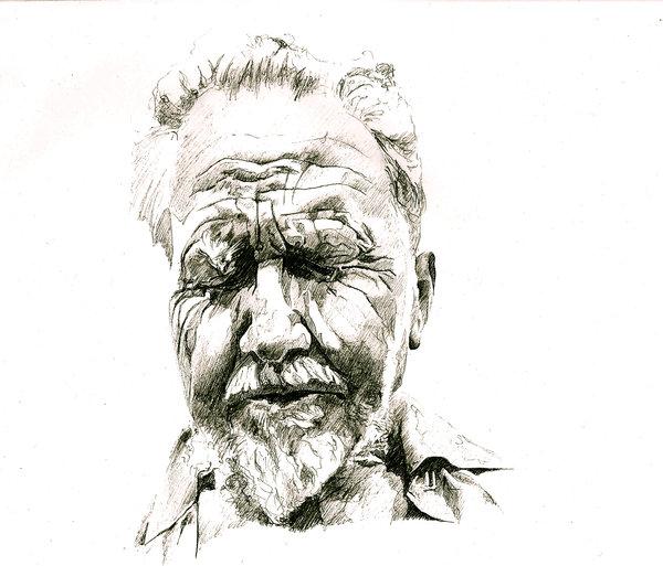 600x513 Ezra Pound By Zalmay