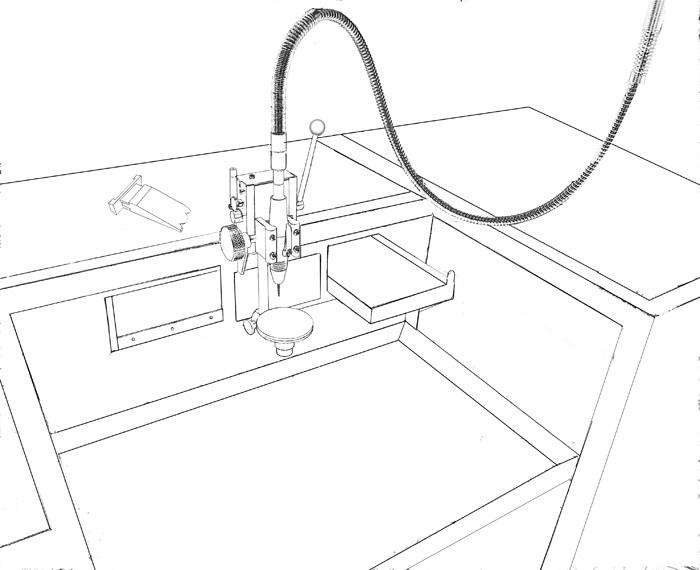 700x570 Drill Str8 Mini Drill Press Product Info