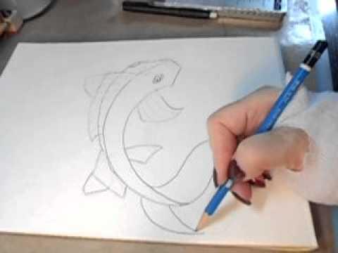 480x360 Draw A Koi Fish Beginner Syle