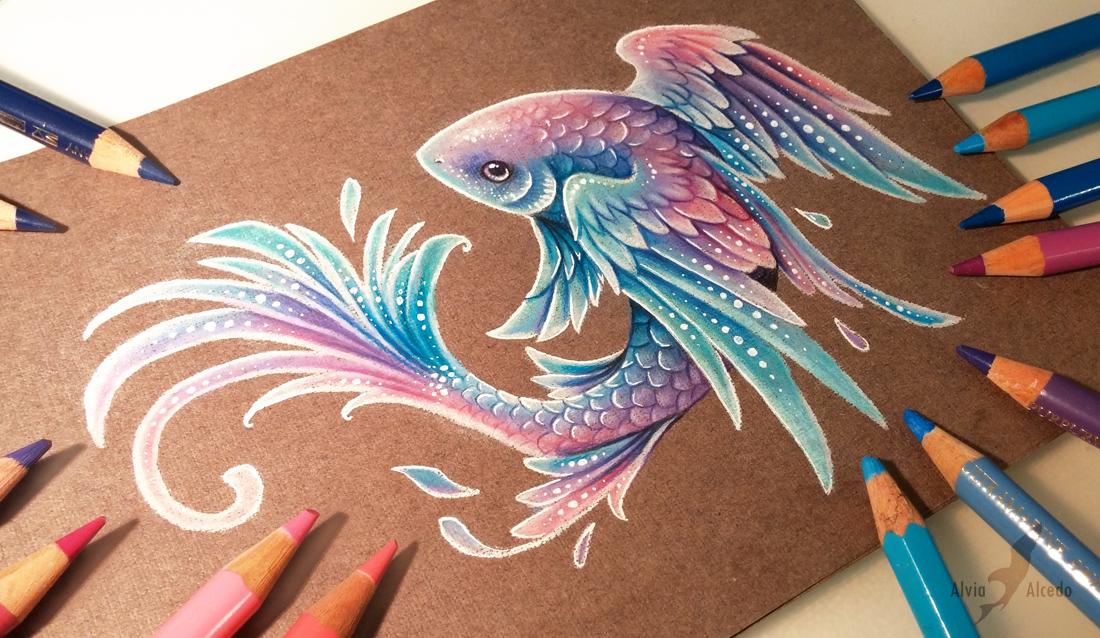 1100x638 Flying Fish By Alviaalcedo