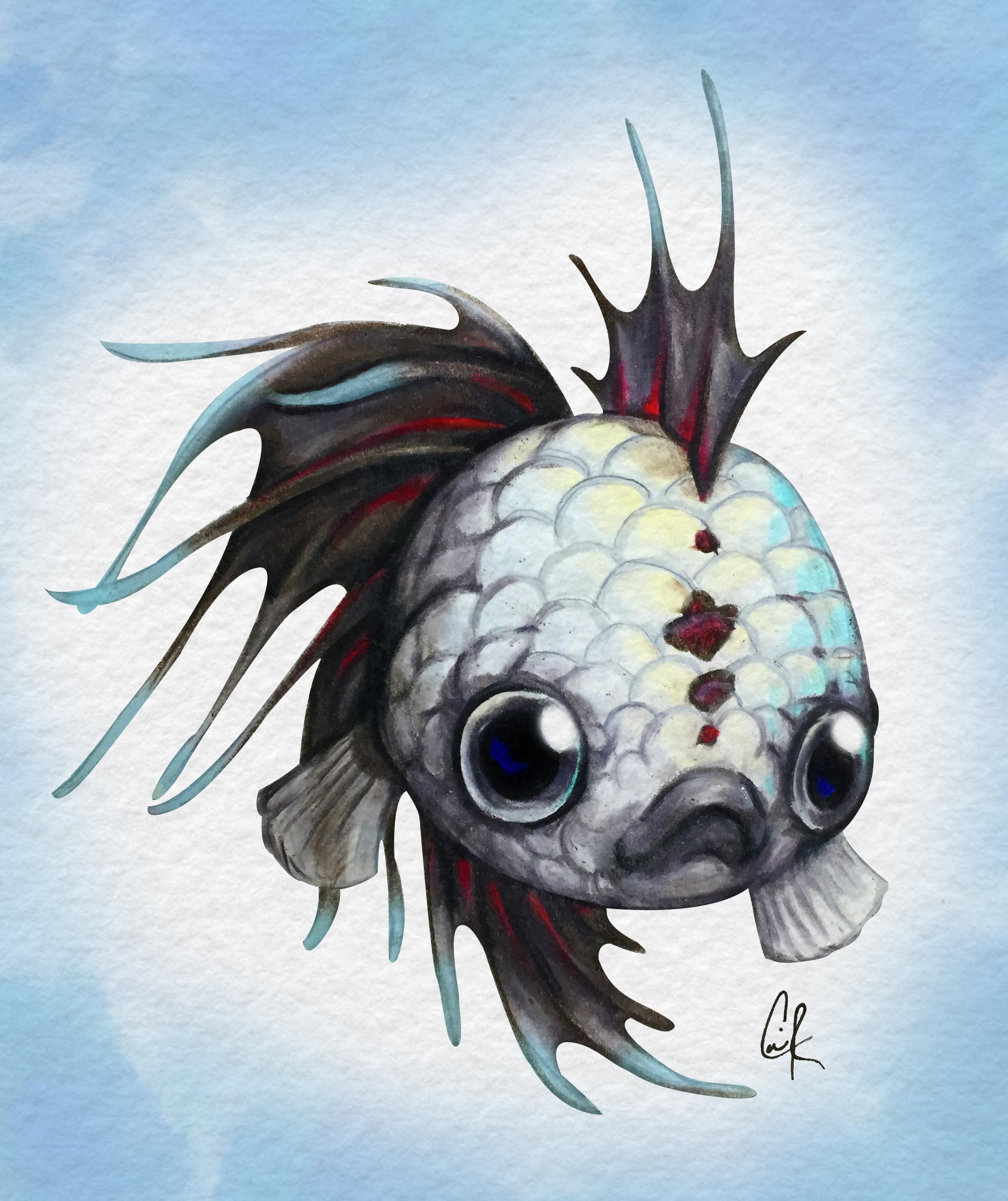 2108x2510 More Pretty Fishes!