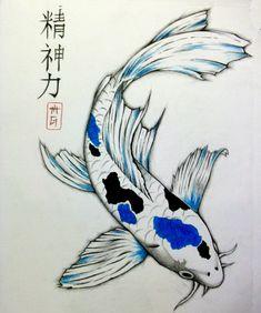 235x282 Koi Fish By Dennis Adriano