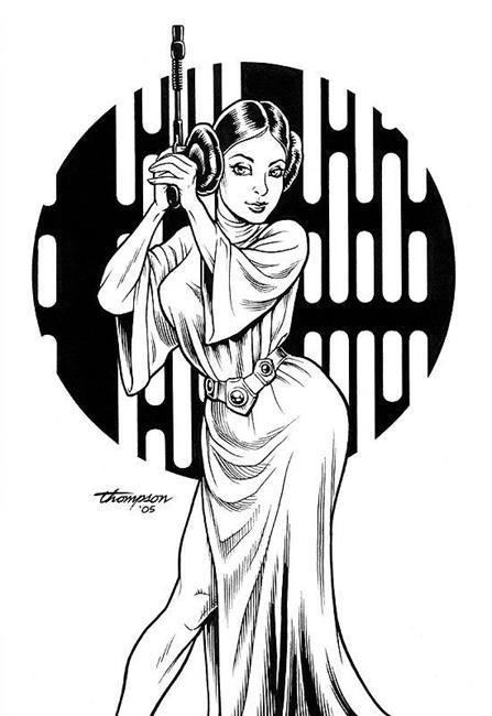 447x650 Princess Leia