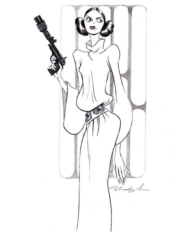 630x807 Best Film Princess Leia Mindy Lee Images On Designspiration