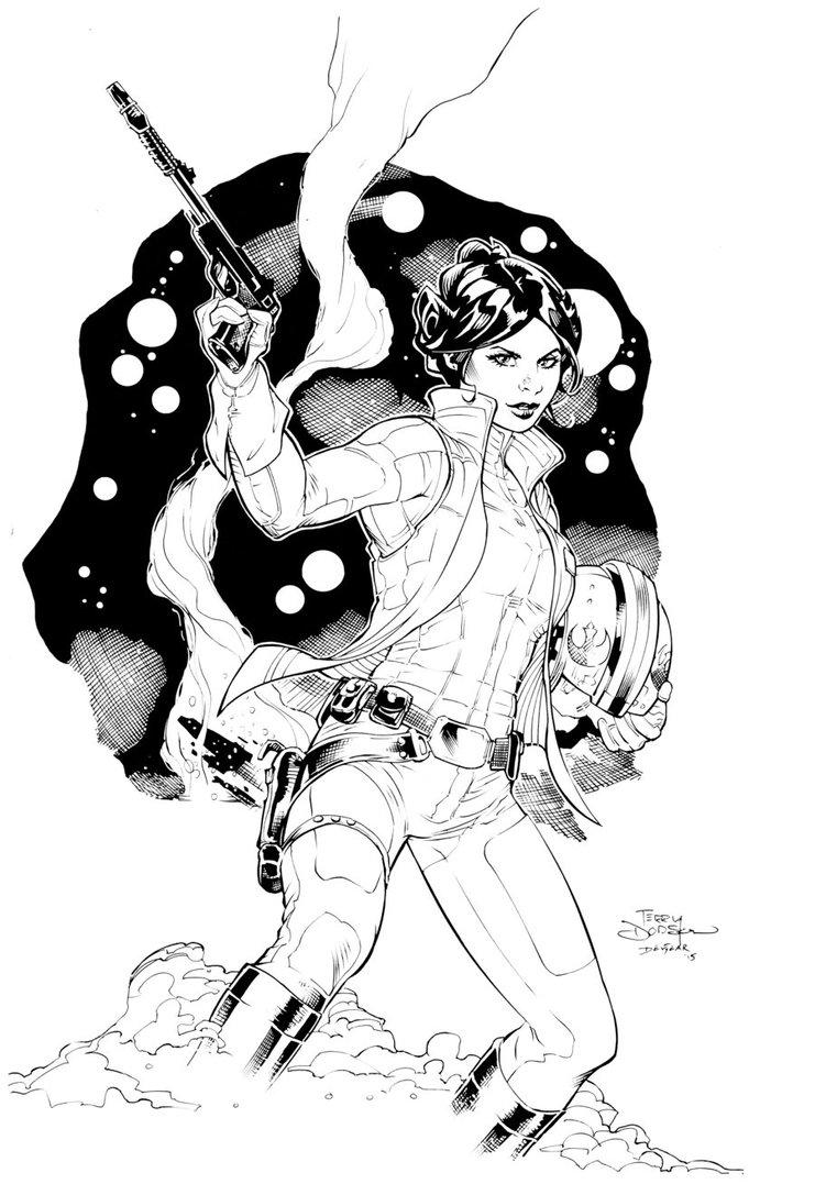 741x1077 Princess Leia By Devgear