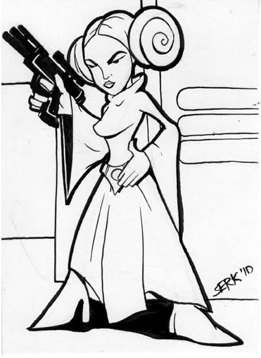 371x508 Serkworks Halloween Memories Princess Leia