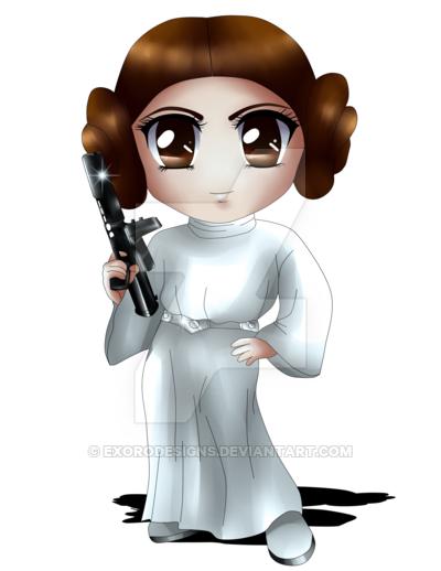 400x518 Princess Leia By Exorodesigns