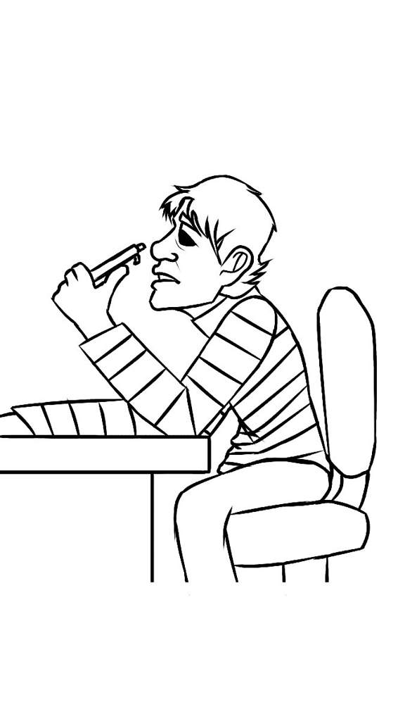 Baldis Basics Coloring Pages - Coloring Pages Kids