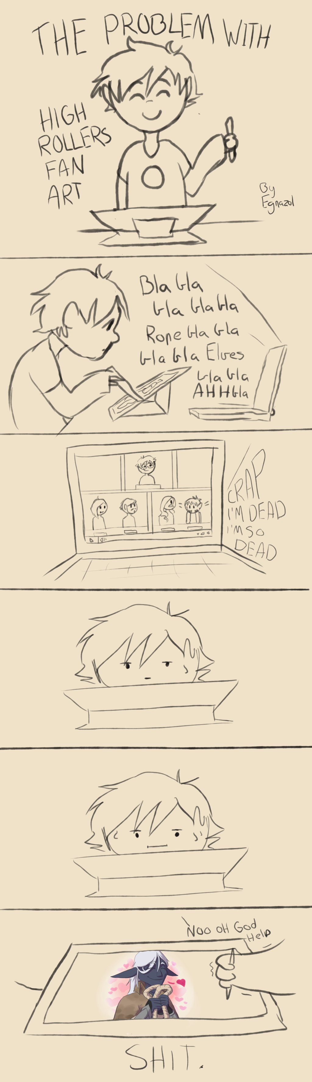 1024x3543 The Problem With Drawing High Rollers Fanart By Egnazol