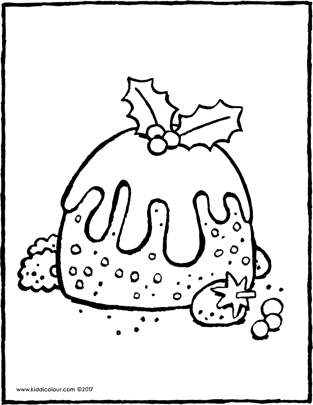 1240x1600 Christmas Pudding