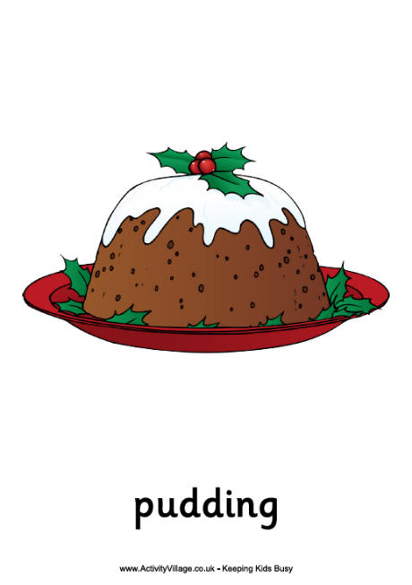 460x652 Collection Of Xmas Pudding Drawing High Quality, Free
