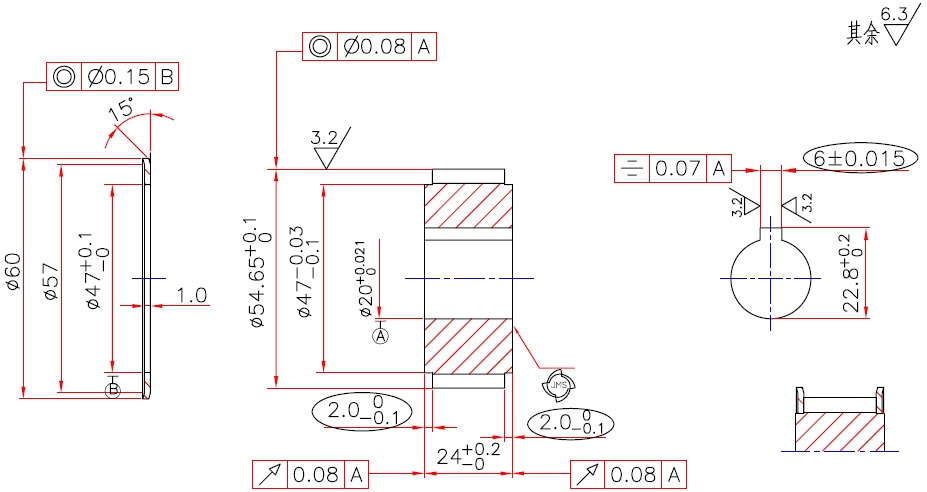 927x492 Measuring Report Example Of A Timing Belt Pulley