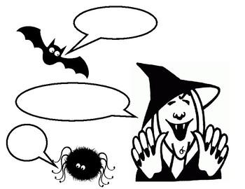 350x270 Petrifying Punctuation Halloween Themed Dialogue Worksheet Tpt