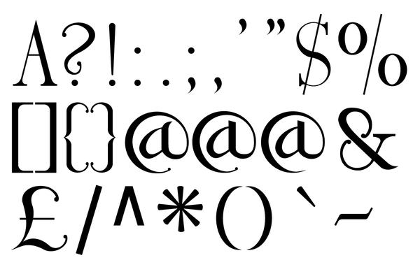 600x382 Serif Font