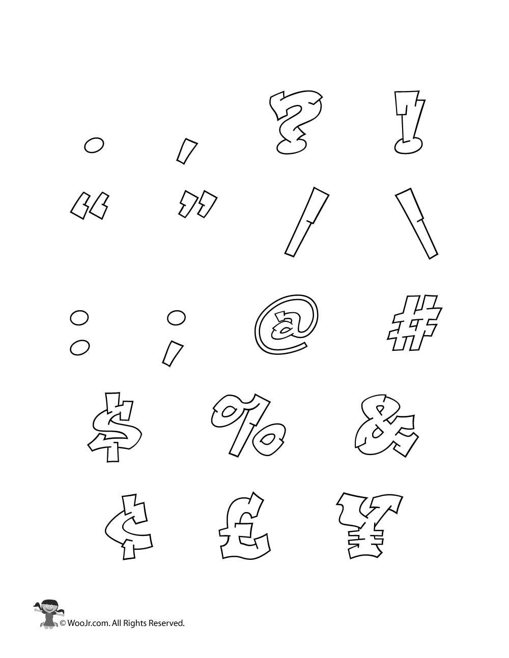 1000x1294 Graffiti Punctuation Woo! Jr. Kids Activities