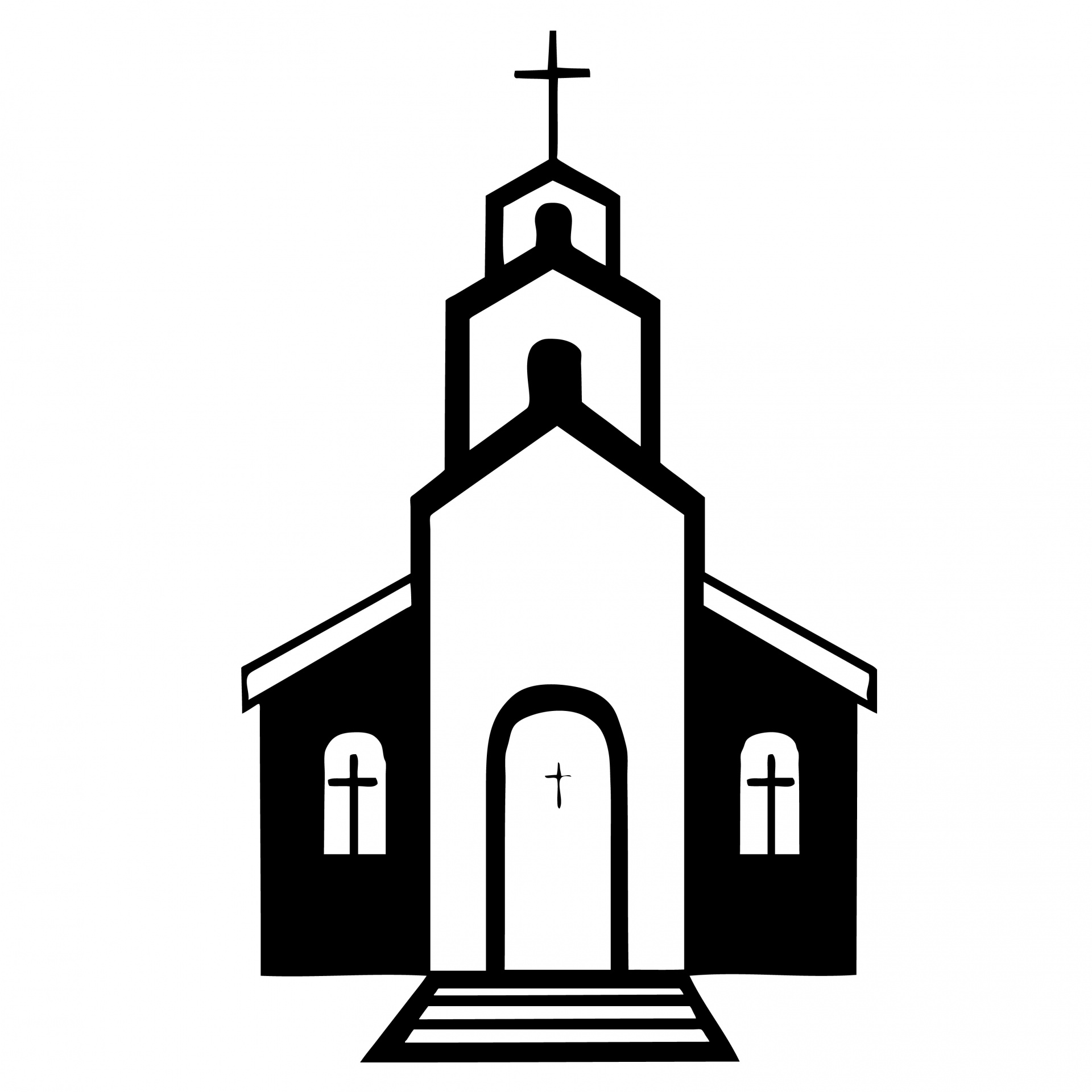 1920x1920 Steeple Clipart Puritan Church
