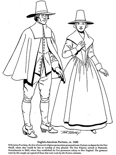 377x500 Cavalier And Puritan Fashions English American Puritans,