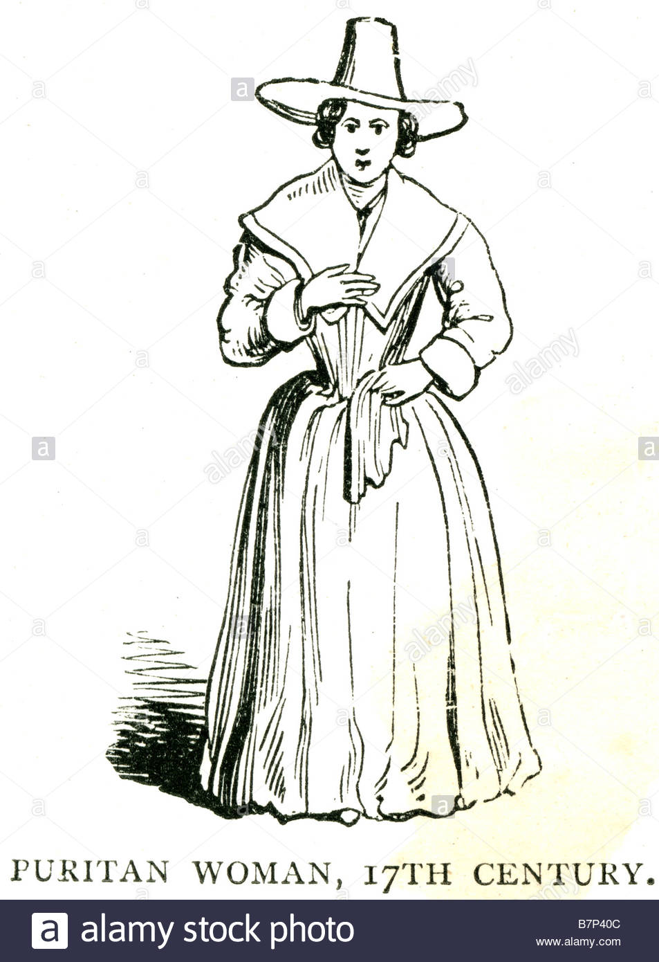 953x1390 Collection Of Puritan Woman Drawing High Quality, Free