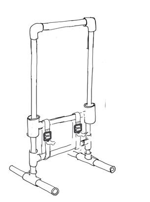 305x410 Pvc Pipe Loom