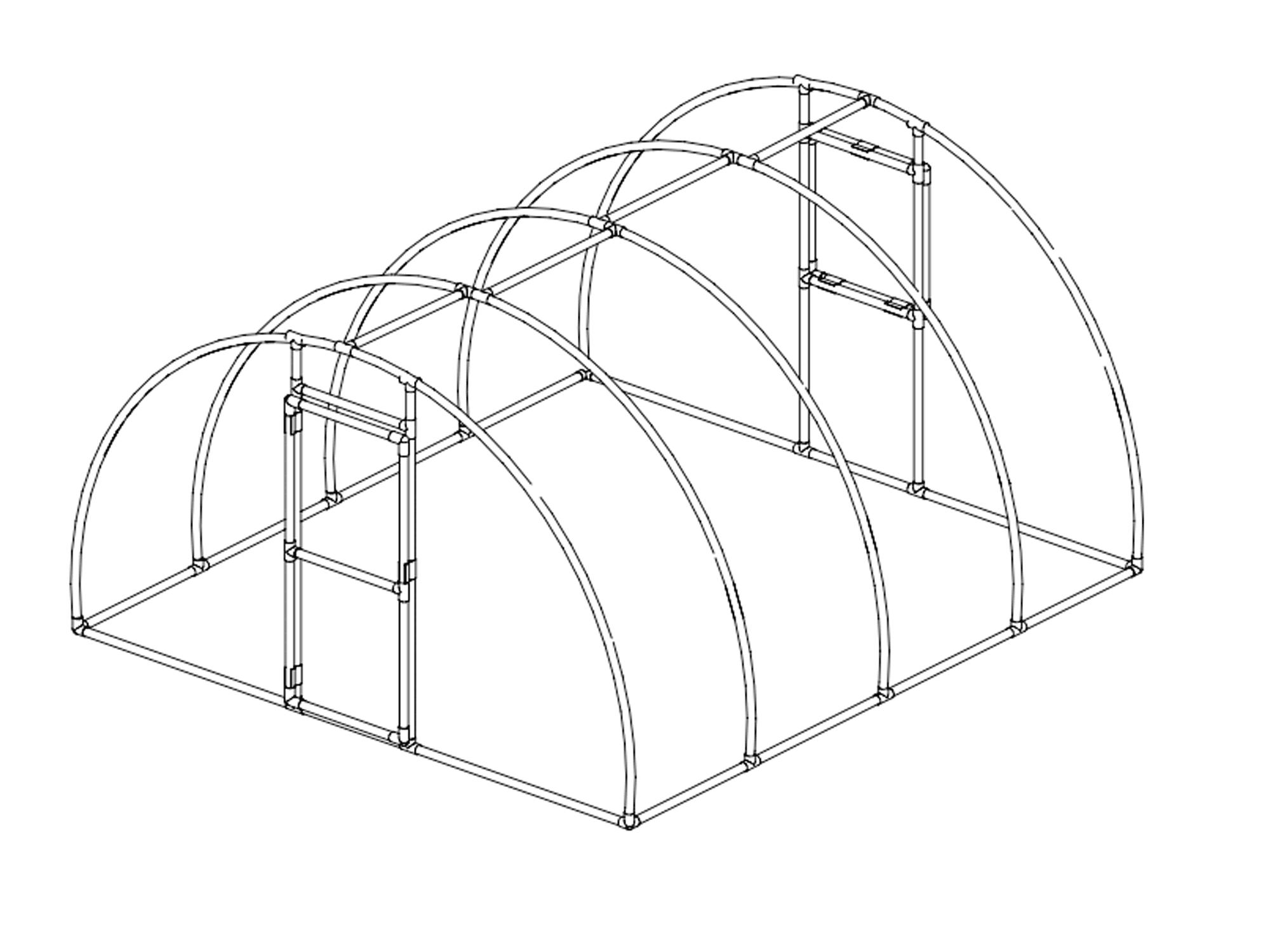 2000x1500 Pvc Hoop House Plans Pdf 11 Free Diy Greenhouse Plans