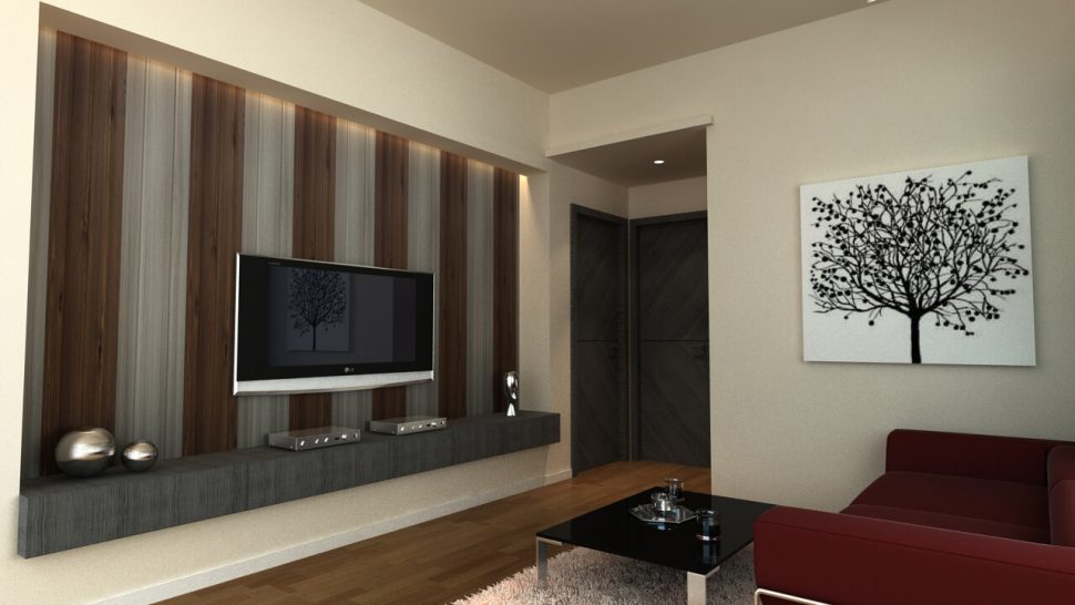 970x546 Living Room Pvc Wall Panels Designs For Drawing Room Image